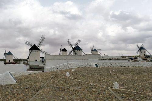 windmill spain castile