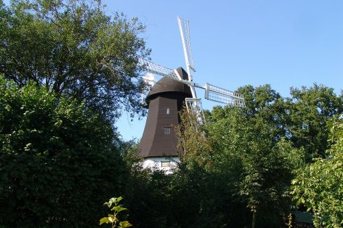 windmill nature landscapes