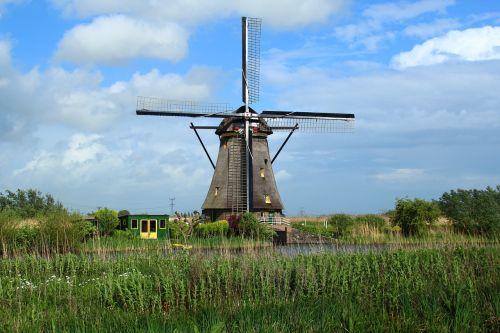 windmill netherlands pinwheel