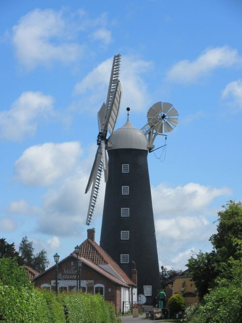 windmill wind sustainable