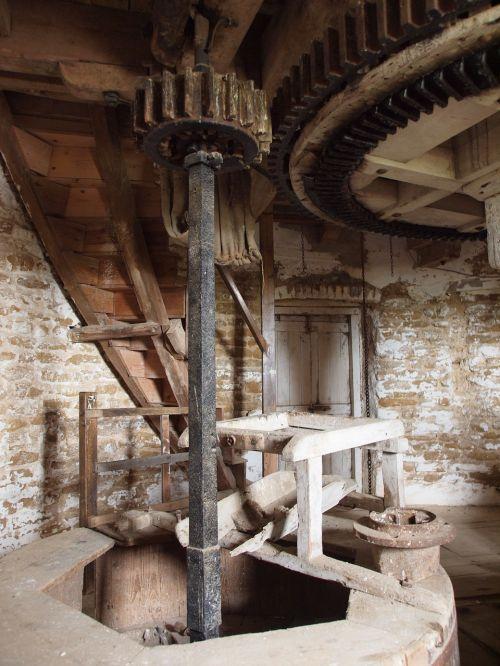 windmill mill wood