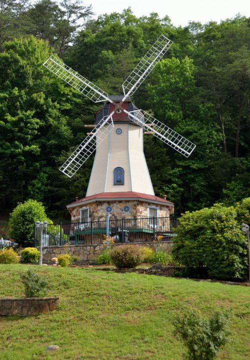 Windmill At Helen Georgia