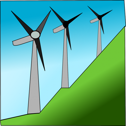 windmills wind energy renewable