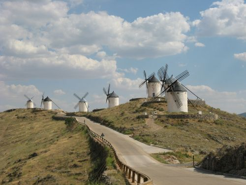 windmills don quixote windmill