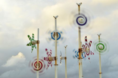 windmills wind mar del plata