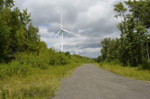 windmills wind power sustainable