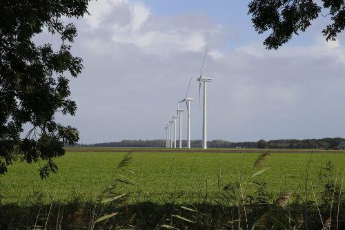 windmills polder zeewolde
