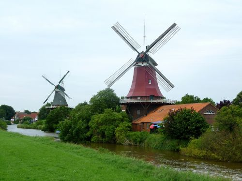 windmills friesland holiday
