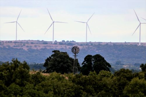 Windmills Of Yesterday And Today