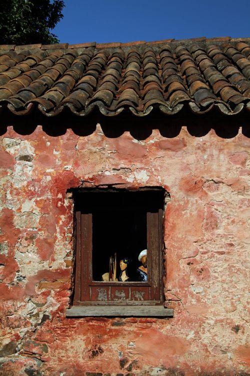 window uruguay old