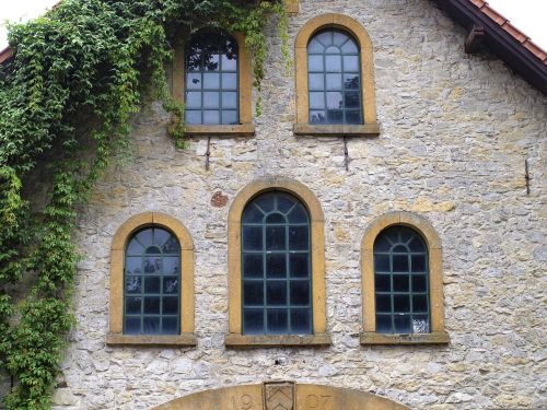 window romanesque old