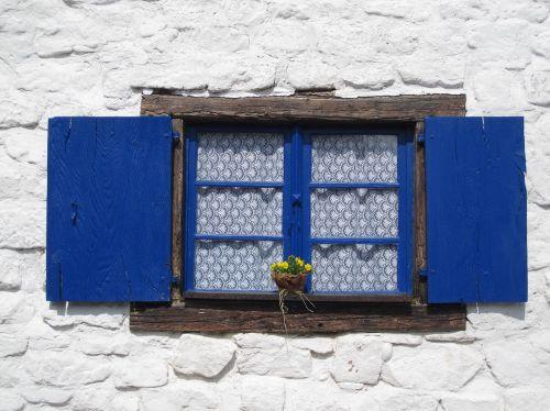 window curtain klappladen