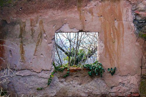 window hole green