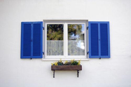 window europe blue