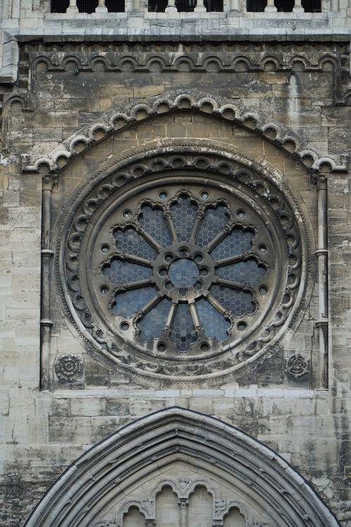 window rosette dom