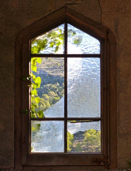 window old window broken