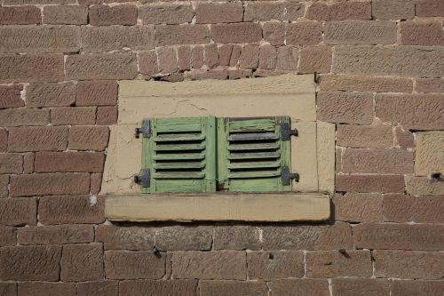 window shutter facade