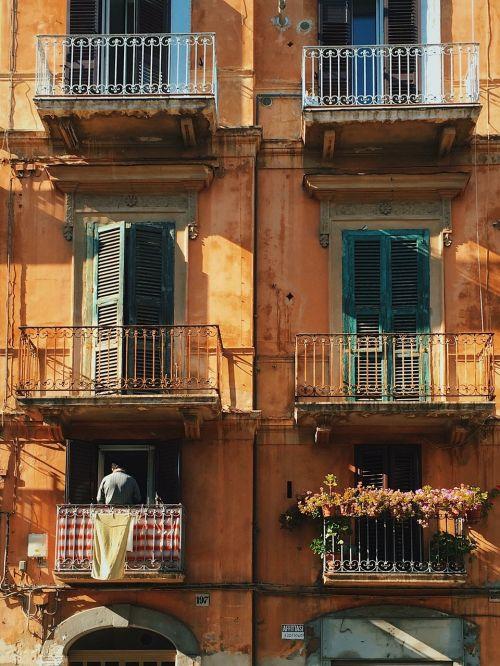 window balcony life