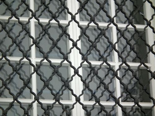 window grille glass