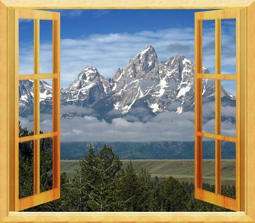 window view open window