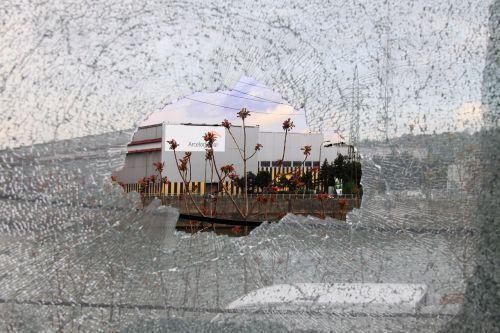 window vandalism urbex