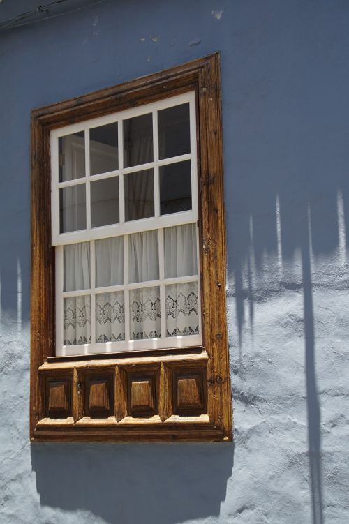 window home front facade