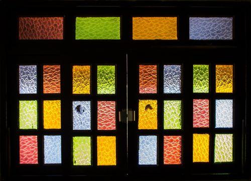 window stained glass glass