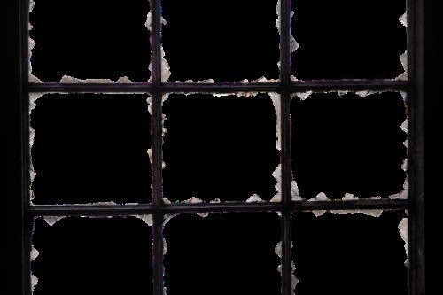 window iron window glass