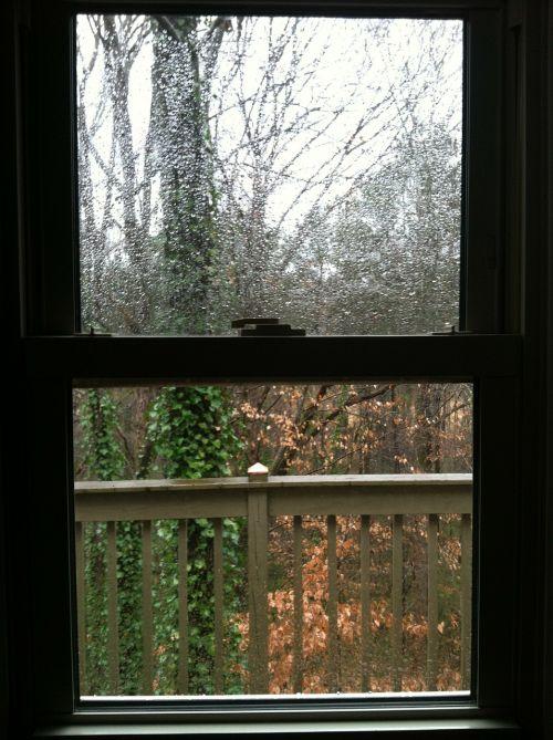 window nature rain