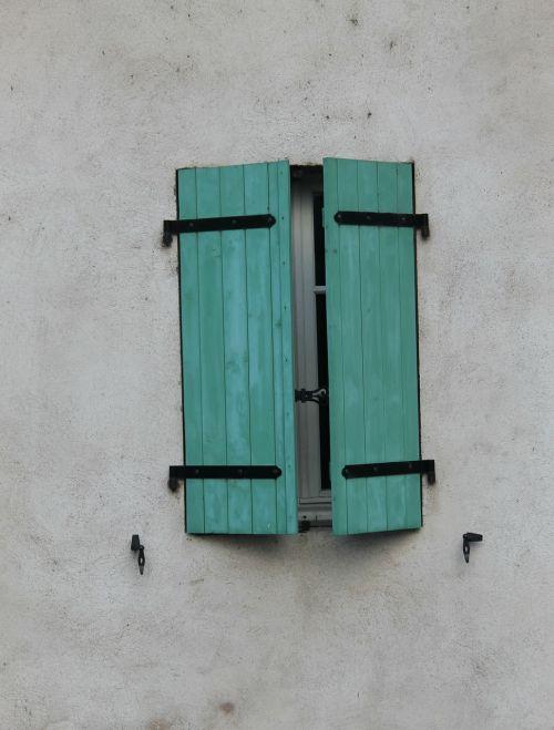 window closed shutters