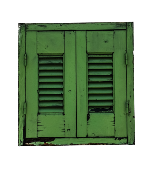 window shutter green