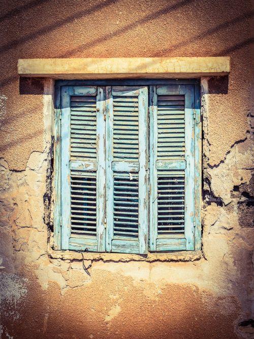 window wooden old