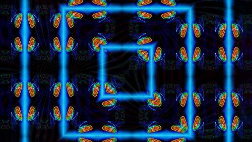 window kaleidoscope art pattern