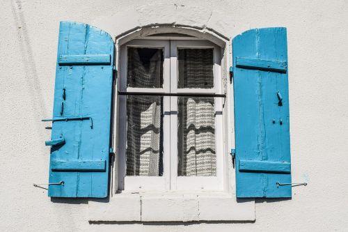 window wooden house