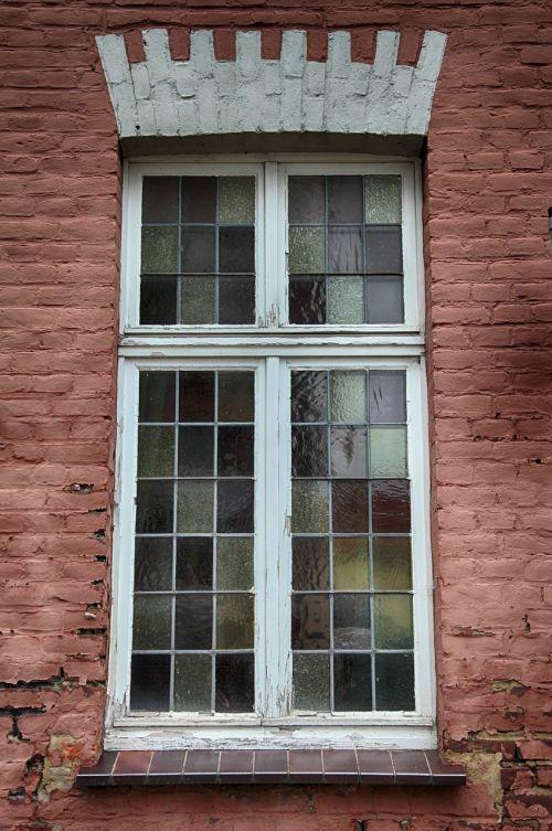 window old leaded glass