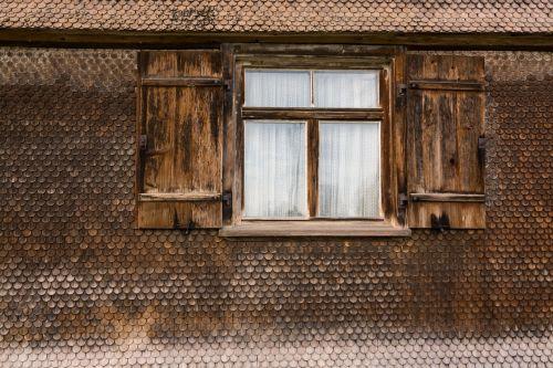 window allgäu facade