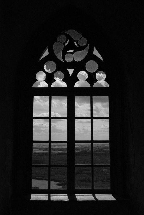 window sky landscape