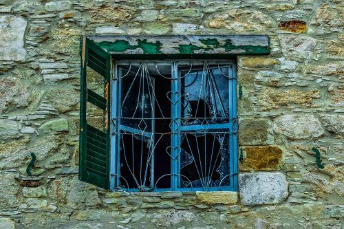 window old wooden