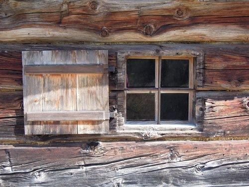 window  wooden windows  old