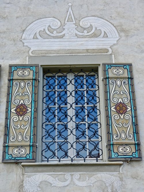 window  decoration  ironwork