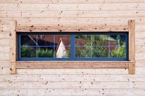 window  wood  facade