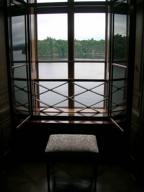 window chair lake