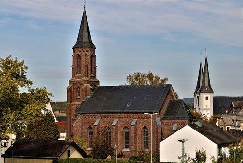 window  brick  churches