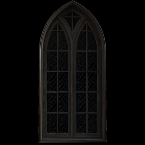 window  gothic  old