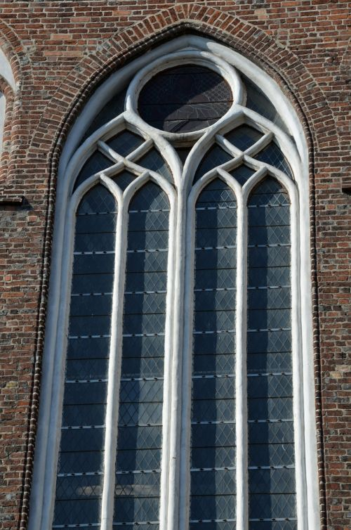 window gothic church