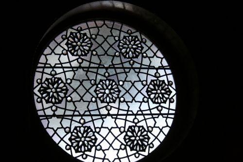 window ornate glass