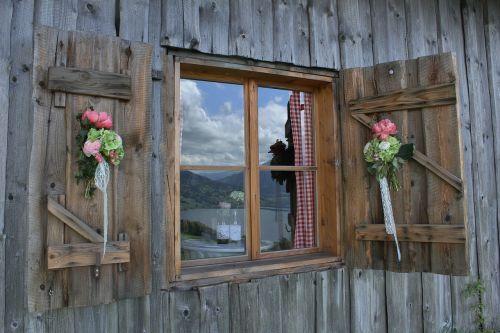 window by looking wooden windows