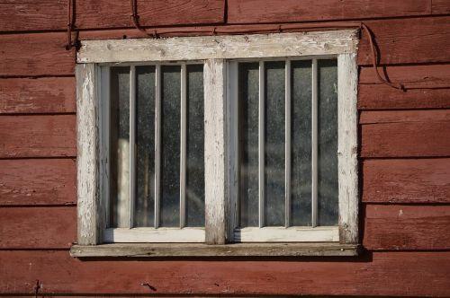 window wood barn