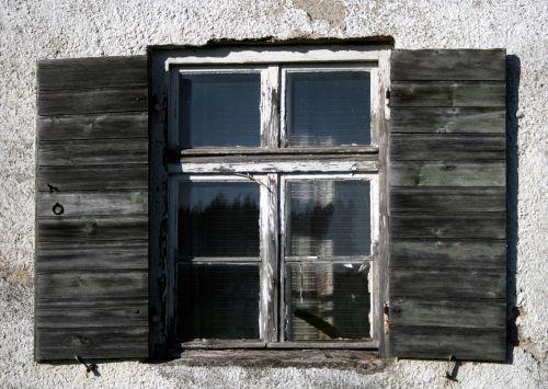 window shutter old