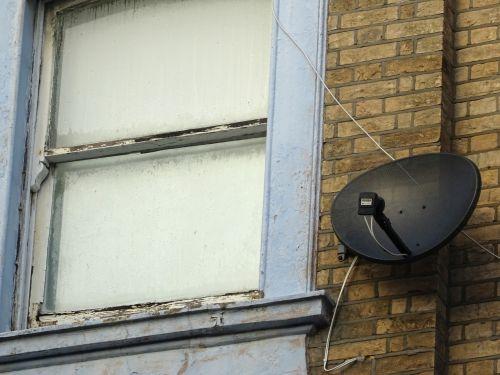 Window And Satellite Dish